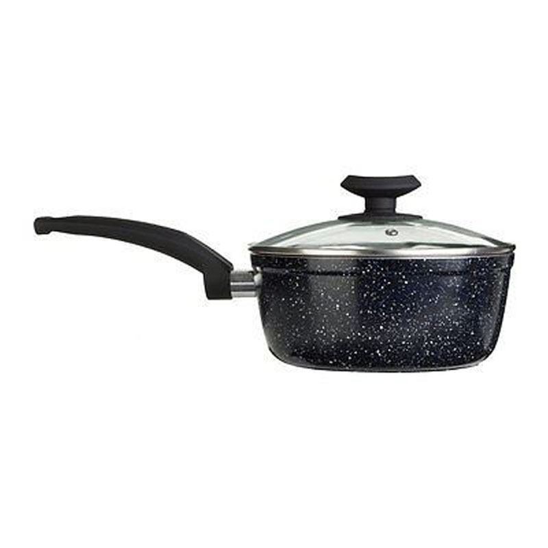 Stoneflam 20cm Saucepan,Forged Aluminium / Marble Coating