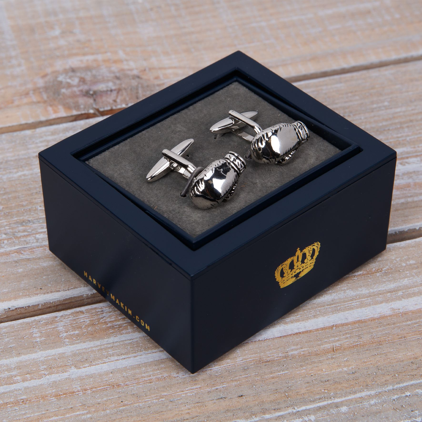Harvey Makin Boxing Glove Cufflinks