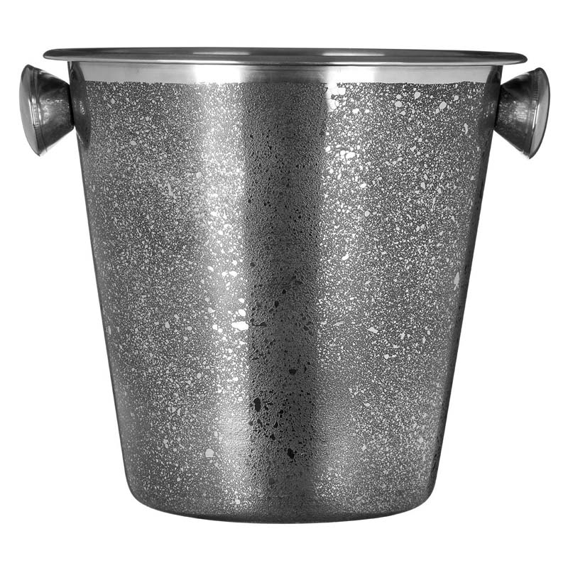 Champagne/Wine Bucket, Stainless Steel, With Handles