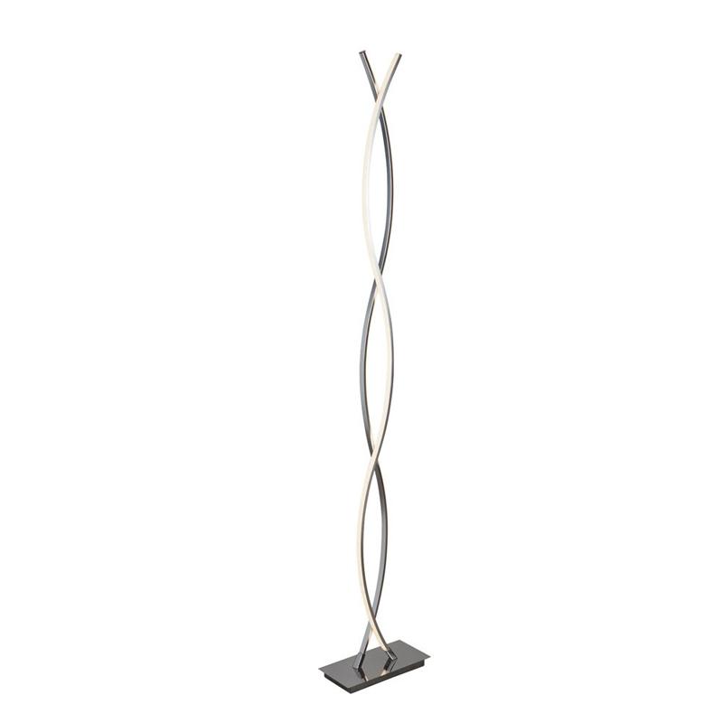 Searchlight PLATT LED FLOOR LAMP, CHROME 5679CC