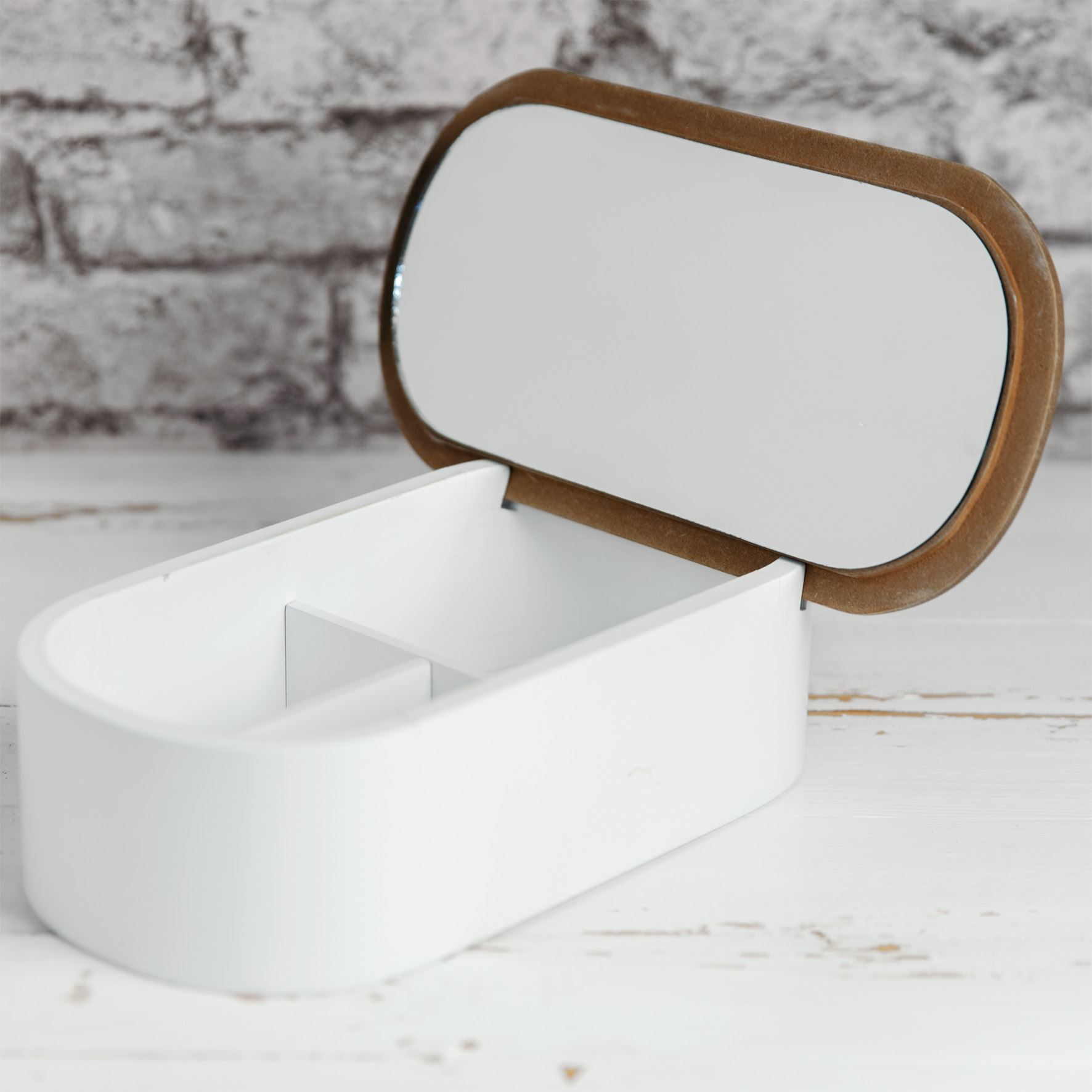 Moroccan Collection Oval Jewellery Box & Mirror