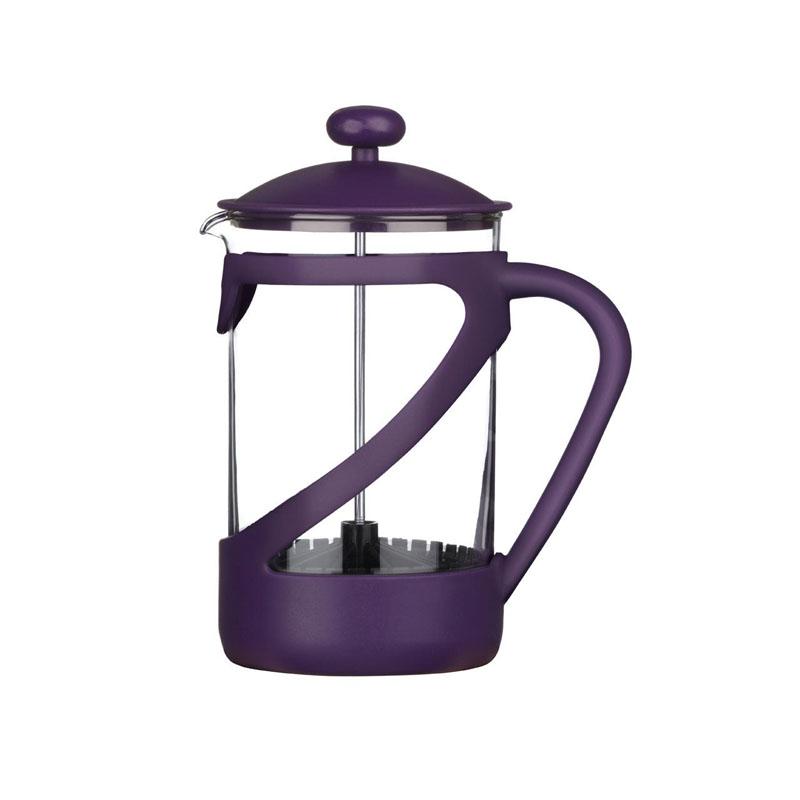 Kenya Cafetiere,Purple Plastic/Heat Resistant Glass Insert,6 Cup/850Ml
