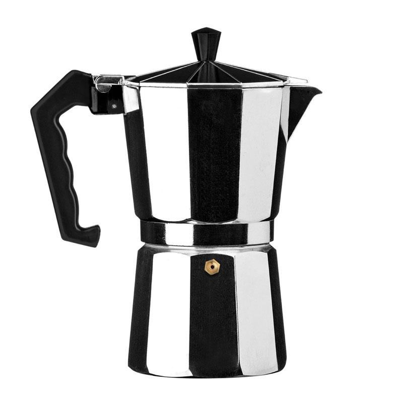 Espresso Maker,9 Cup,Aluminium
