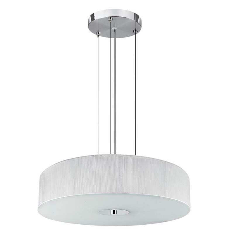 Pendant White String 3 Light