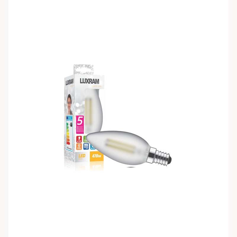New Classic LED Candle Design Bulb Warm White Light 4W, With Socket Base