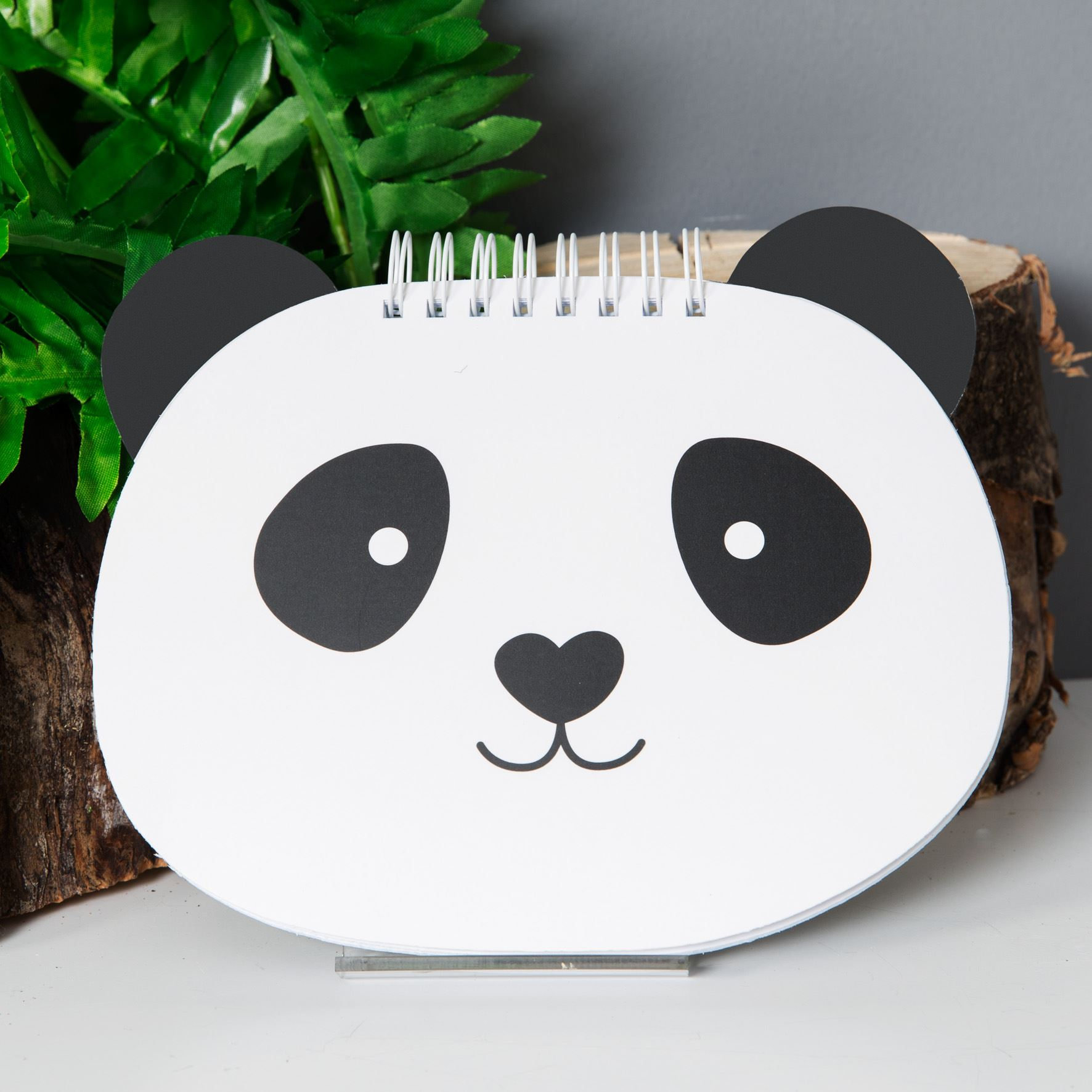 Animal Friends Notebook - Panda