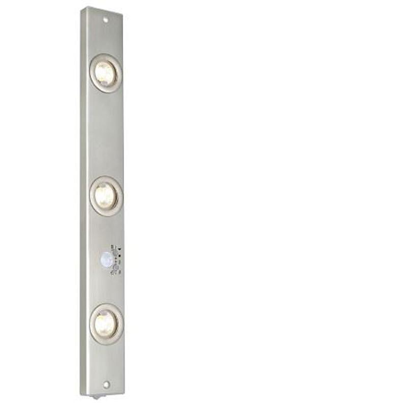 LEXTEND 3 LAMP UNDER FURNITURE (KITCHEN) NICKEL MATE G4 3X20W