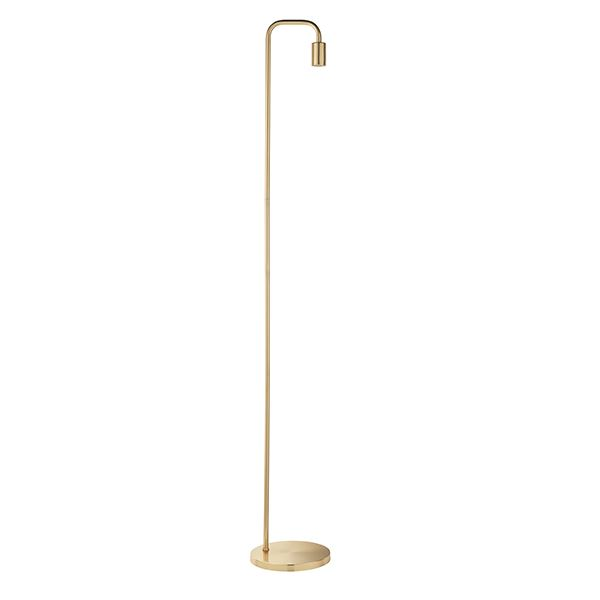 Rubens Floor Lamp 60W SW - Gold Brushed Brass For Hallway