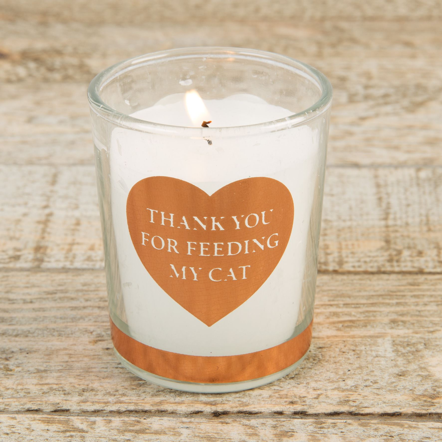 Best of Breed Scented Candle - Thank You For Feeding My Cat