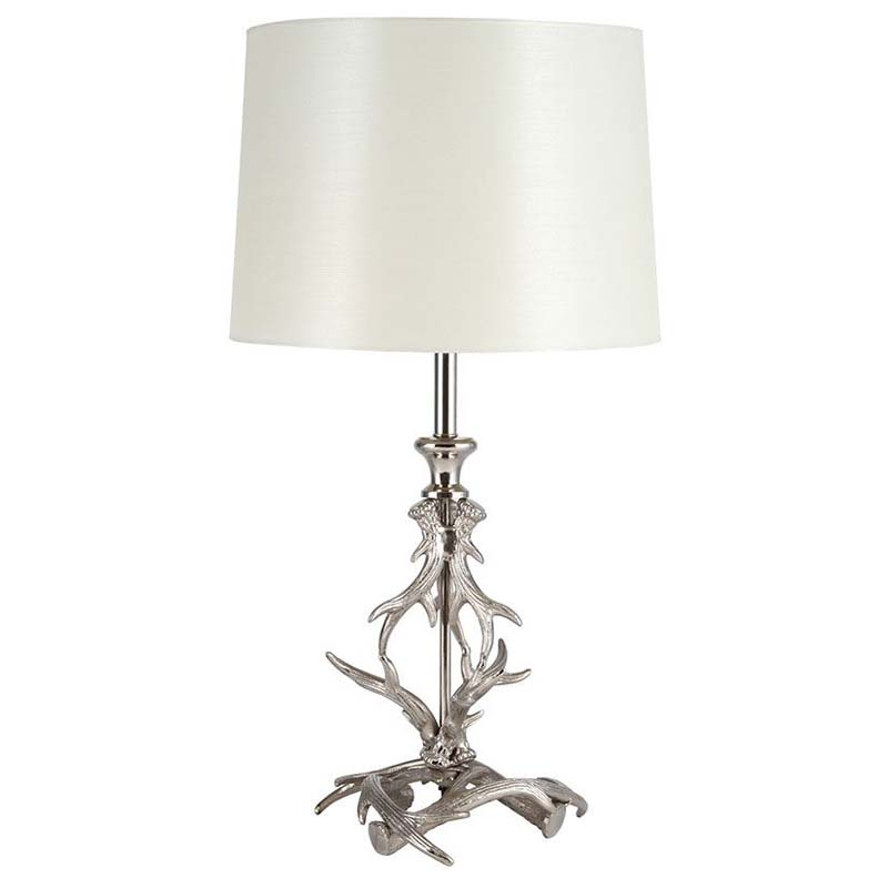 Antler Table Lamp Base Only Contemporary Style