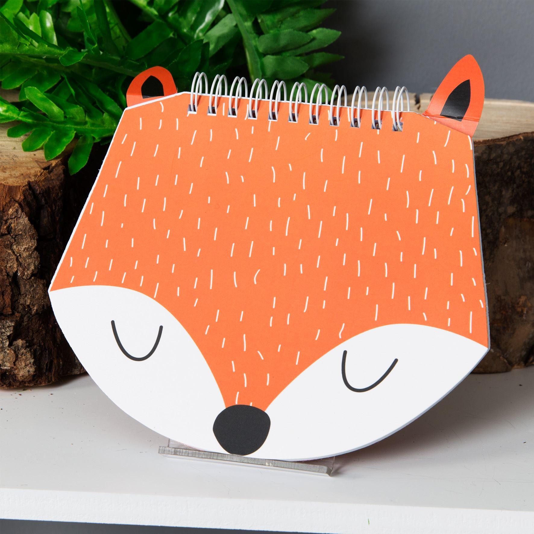 Animal Friends Notebook - Hello Foxy