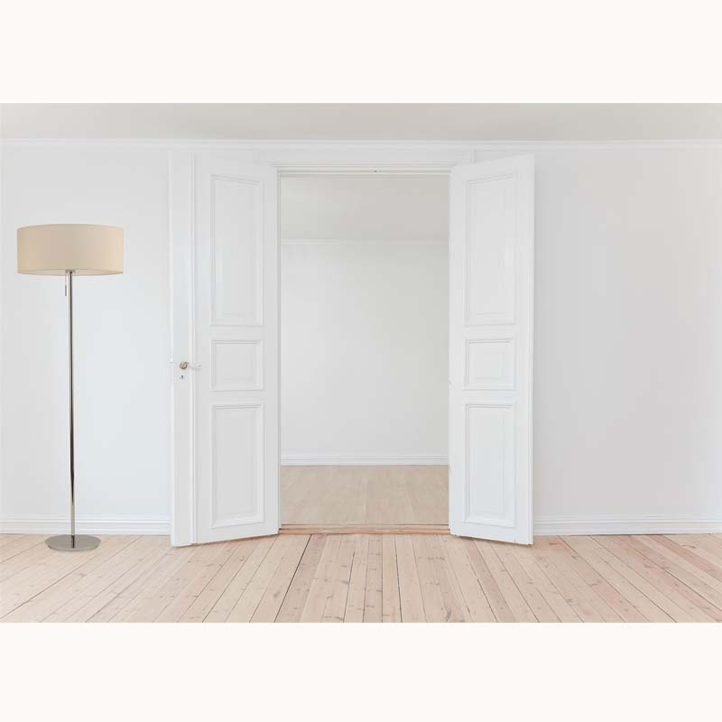 Vintage Antique Brass 1 Light Round Flat Base Floor Lamp, Living Room-Base Only