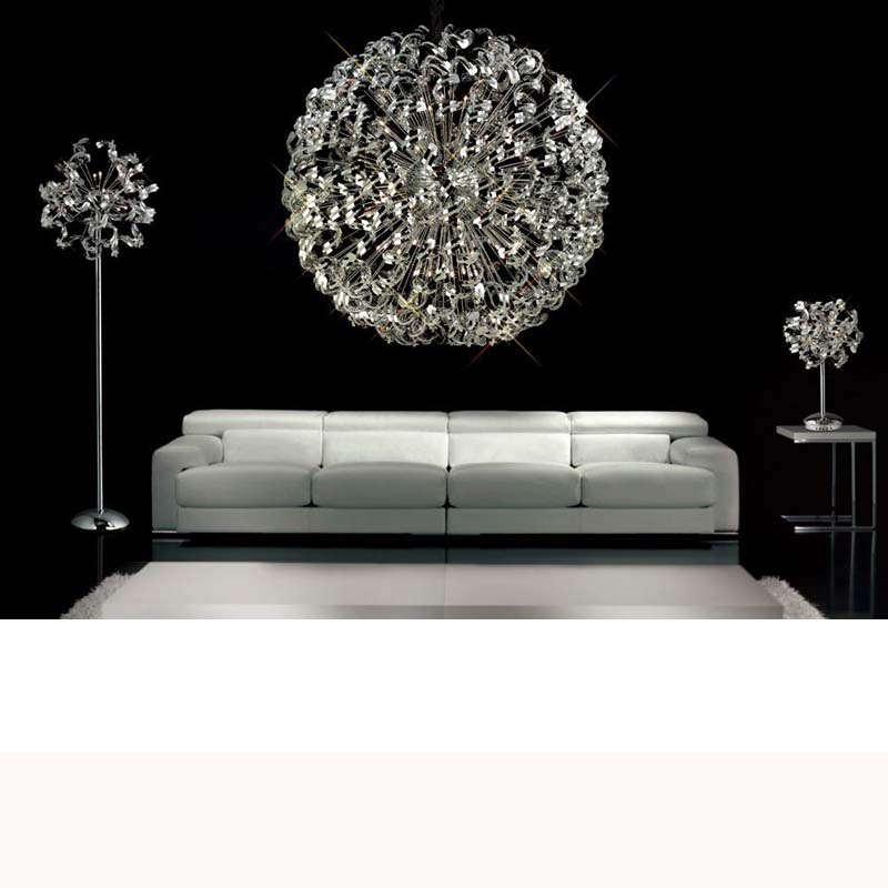 Esme Ceiling 20 Light Polished Chrome/Crystal