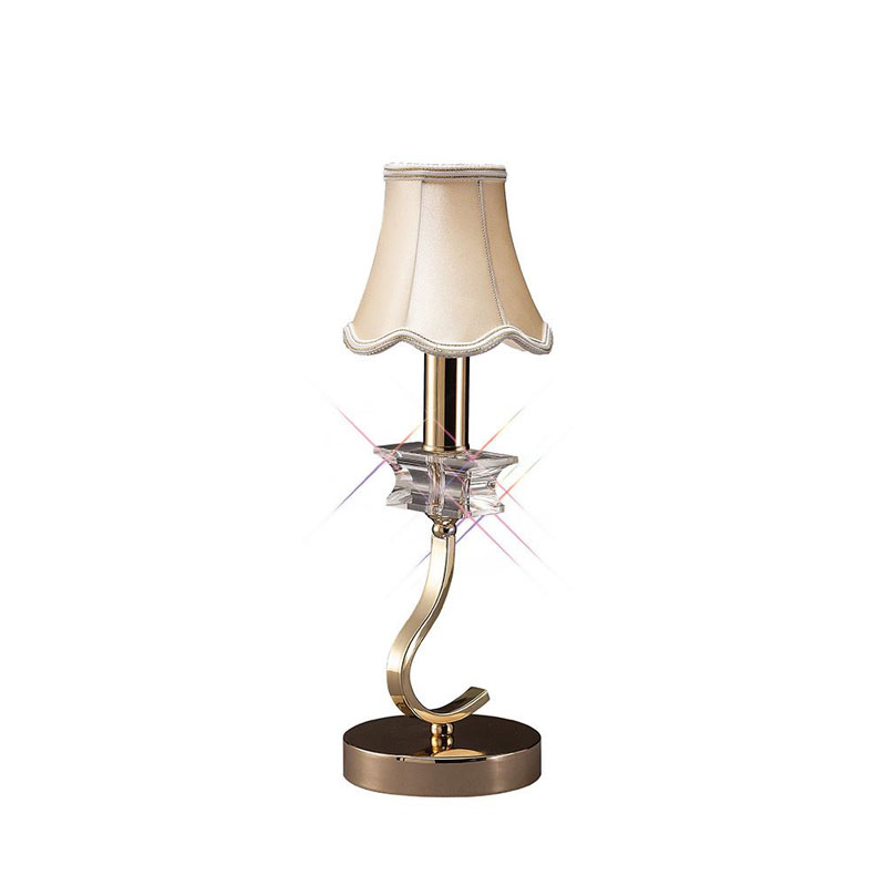 Modern Table Lamp 1 Light French Style Gold/Crystal - High Quality