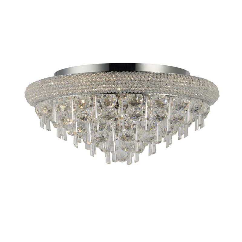 Alexandra Ceiling 7 Light Polished Chrome/Crystal
