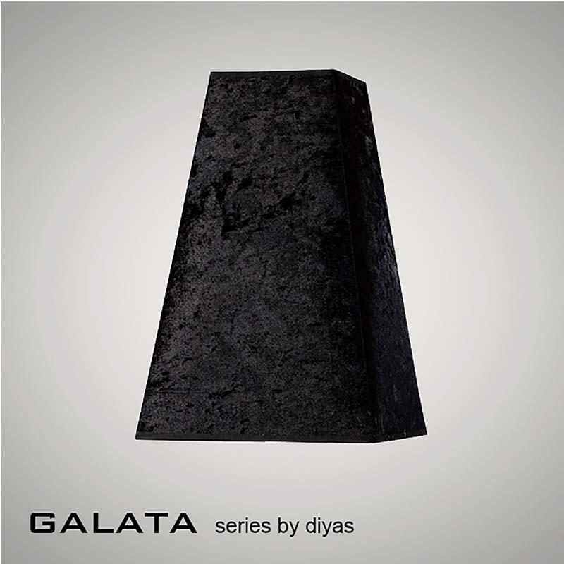 Table Lamp 1 Light Black/Crystal/Polished Chrome - Stunning Home Decor