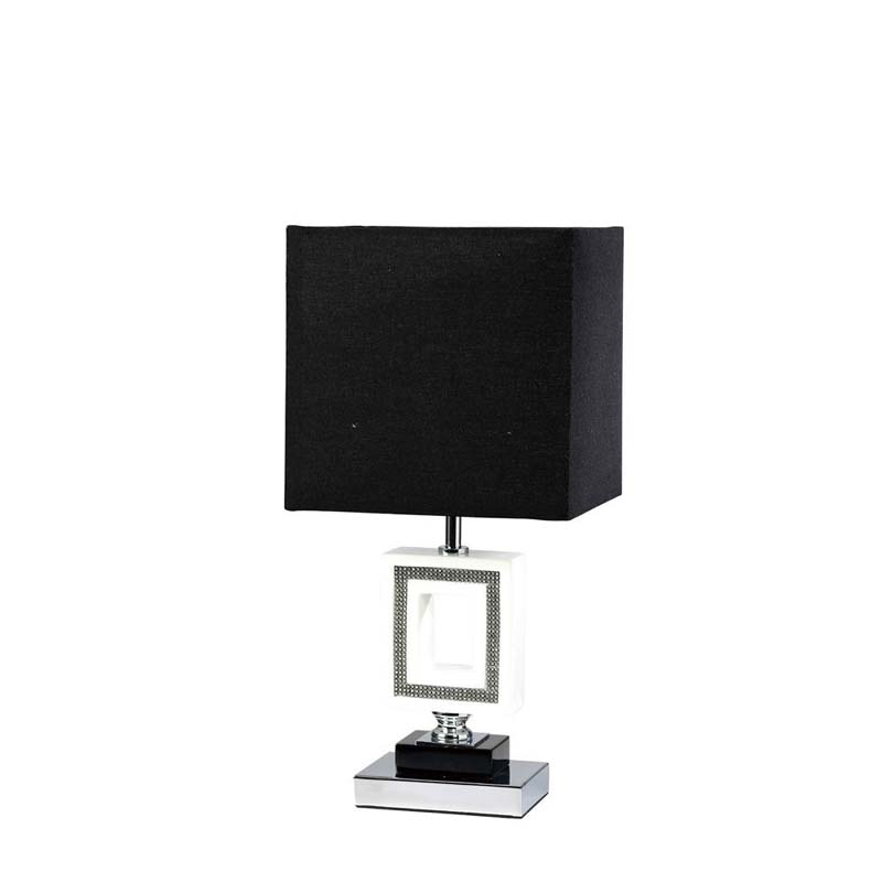 Polished Chrome 1 Light Table Lamp