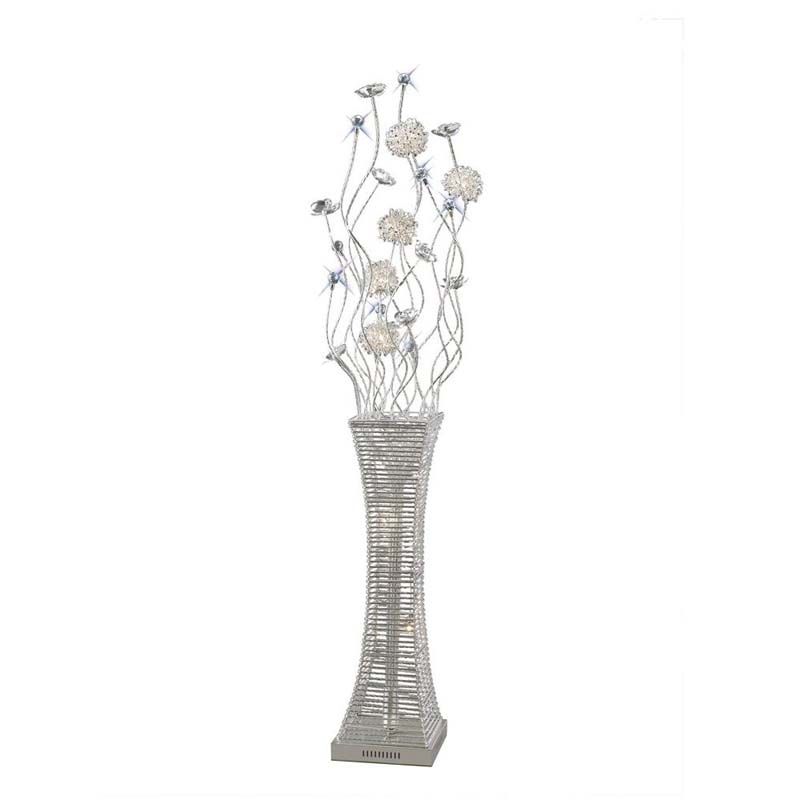 Majella Floor Lamp 7 Light Polished Chrome/Silver/Crystal