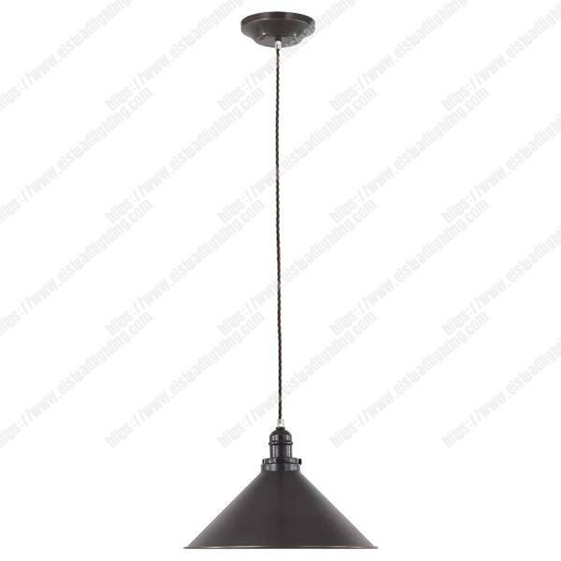 Provence 1 Light Pendant - Old Bronze