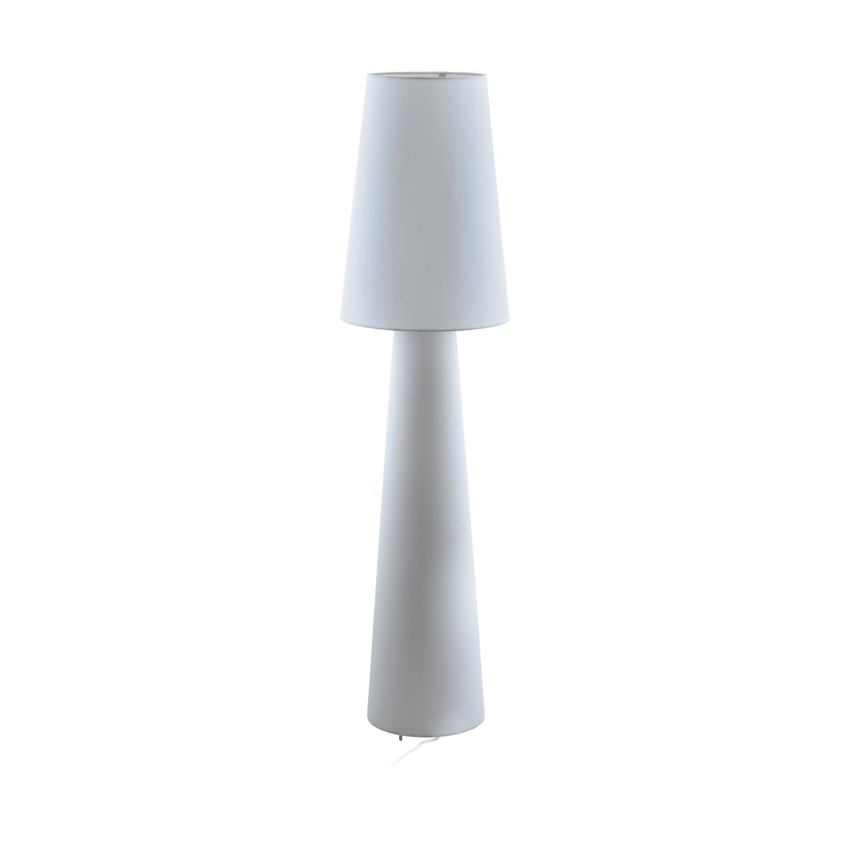 Classic Bedside Table Lamp With Fabric Base & Pleated Shade