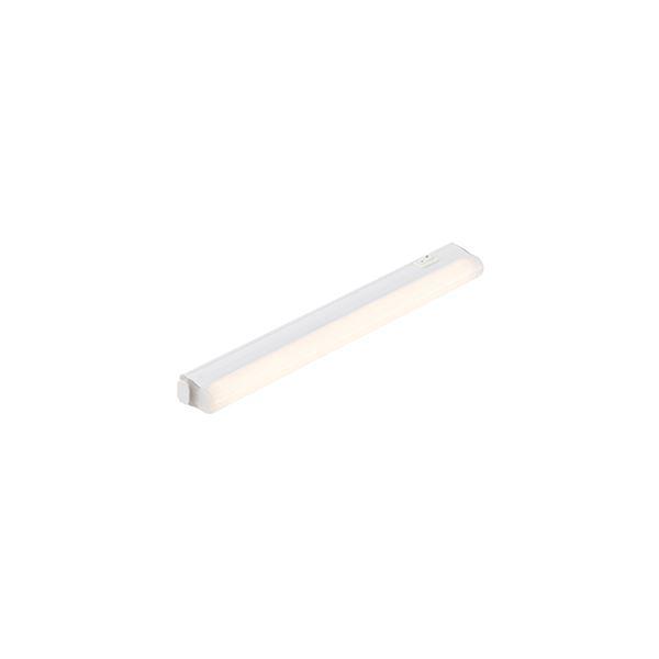 Saxby Sleek Display Cabinet Strip Light Opal Glass Led Cool White
