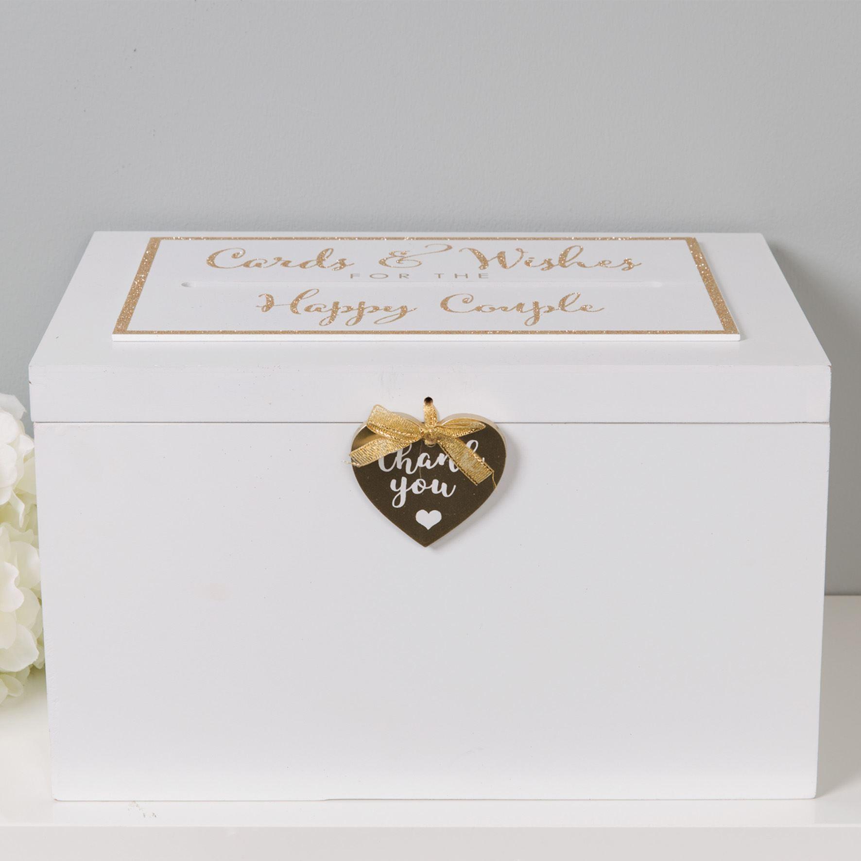 Always & Forever Wedding Thank You Card Box