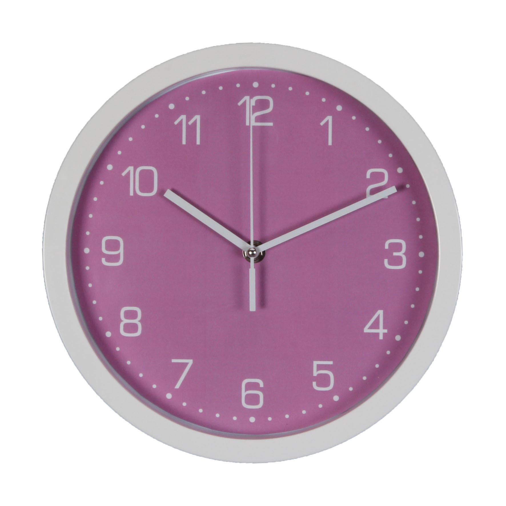 Just 4 Kids Wall Clock - Pink Arabic Dial