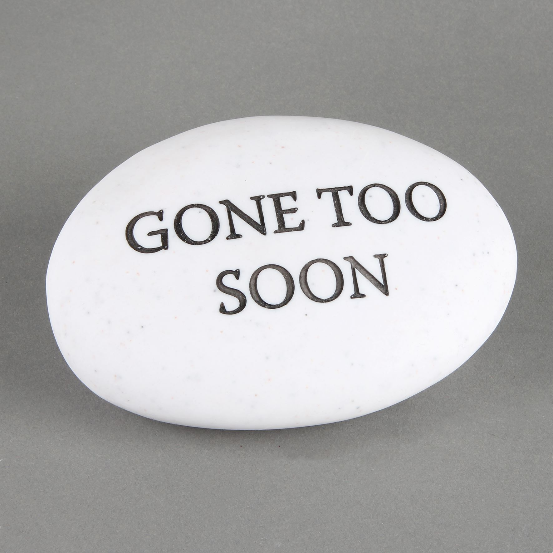 Thoughts of You Memorial Pebble - Gone Too Soon