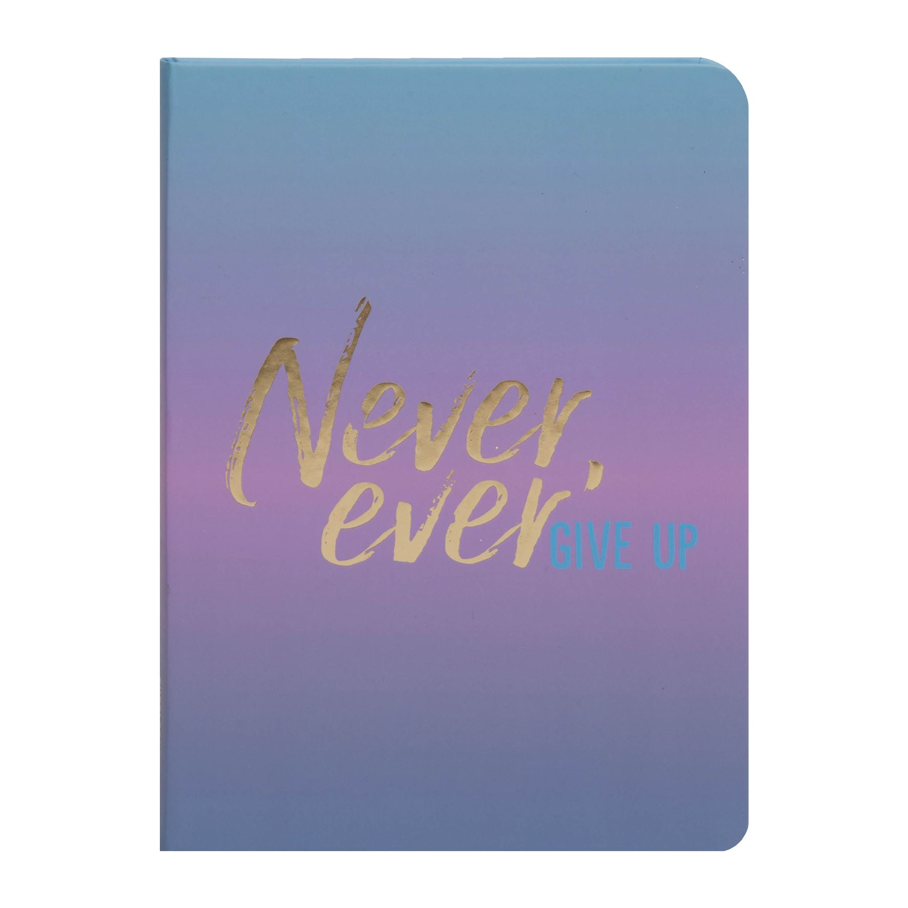 Tutti Frutti Never Ever Give Up A5 Notebook