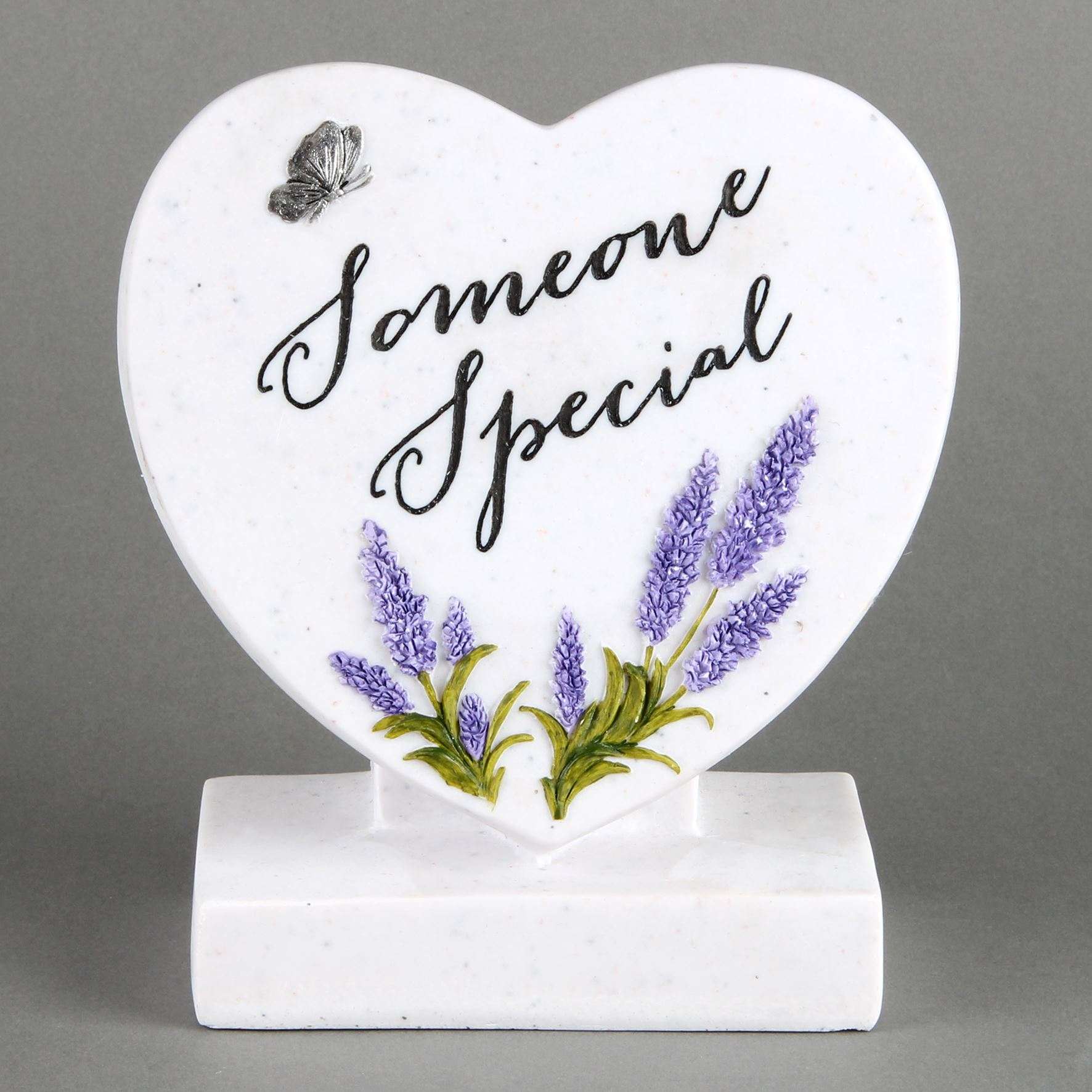 Thoughts of You Graveside Standing Heart - Someone Special